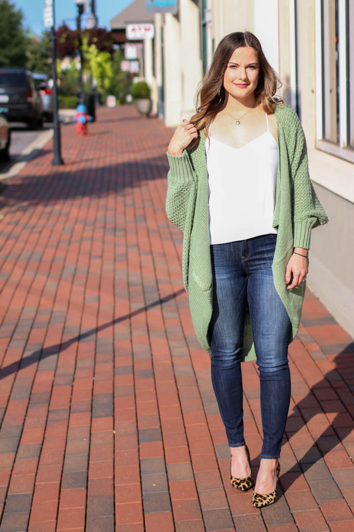 the best cardigan for fall