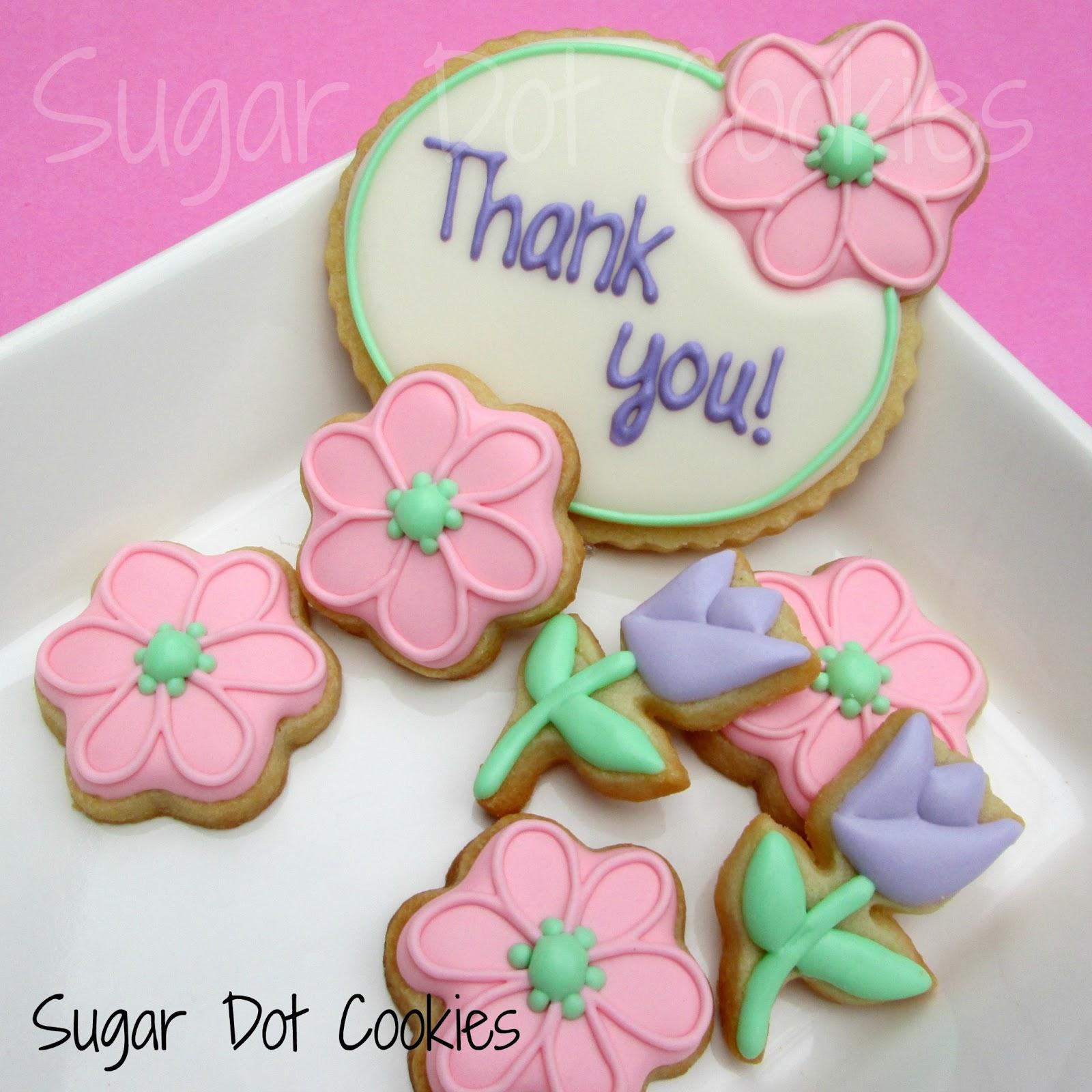 Sugar Dot Cookies: Thank You Cookies