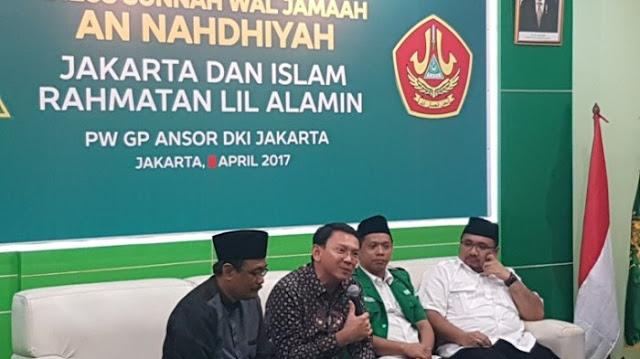 Ketua Umum GP Ansor: Ahok Ini Sunan Kalijodo, Mengubah Masyarakat Hitam Jadi Beriman