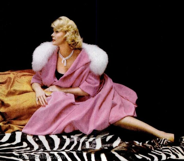 George Petty Pin Up Girls: Couture Allure Vintage Fashion: Dina Merrill In The Latest