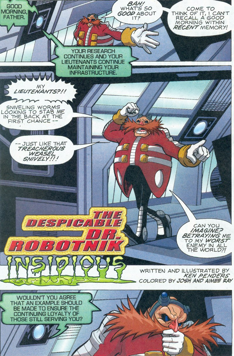 Read online Sonic The Hedgehog comic -  Issue #159 - 18