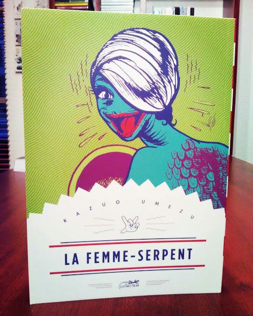 La femme-serpent - Kazuo Umezu - TRaduit du japonais par Miyako Slocombe - Editions Le Lézard noir - 2017.