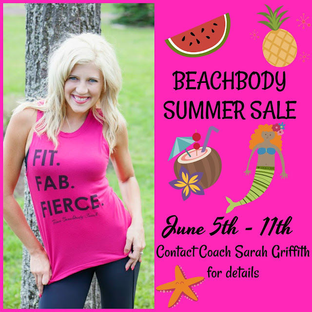 beachbody summer sale, beachbody sale, top beachbody coach, sarah griffith,