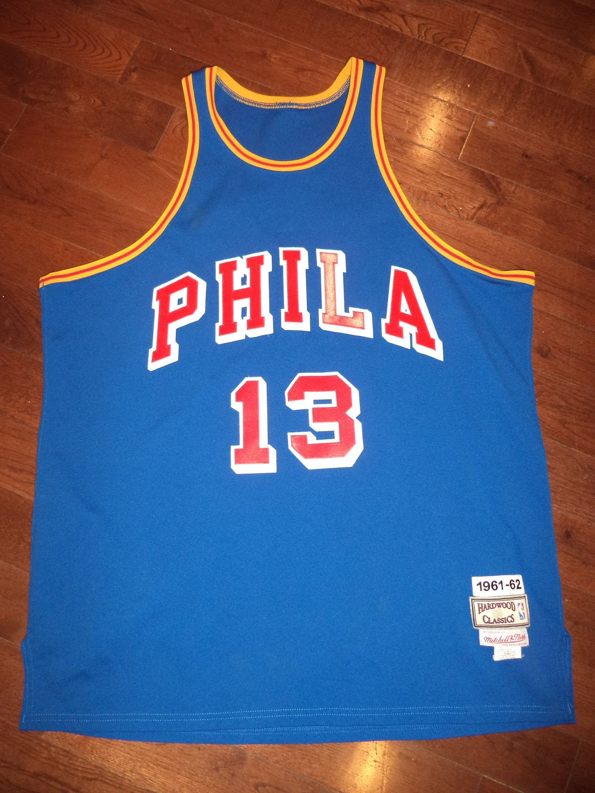 Virgil s Blog  Philadelphia Warriors x Wilt Chamberlain  1961-62  c0c42d469