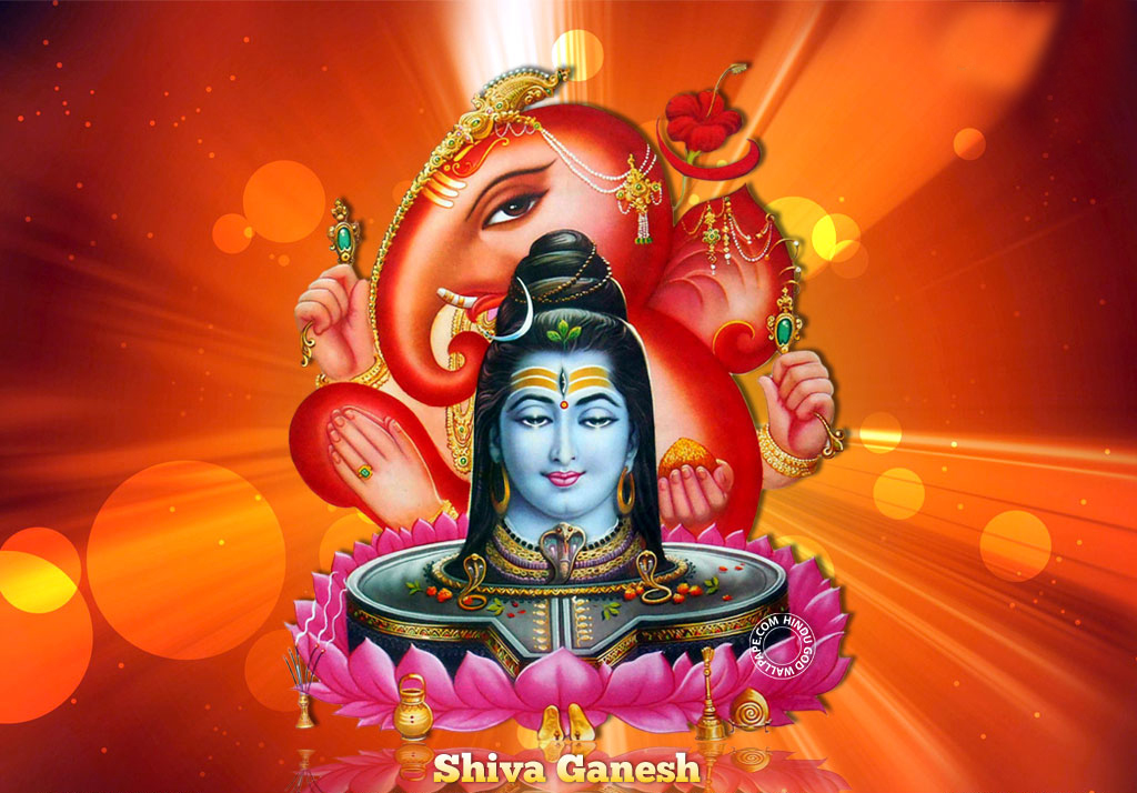 Stylish Bhagwan Shiv Ganesha Ji Pictures for free download