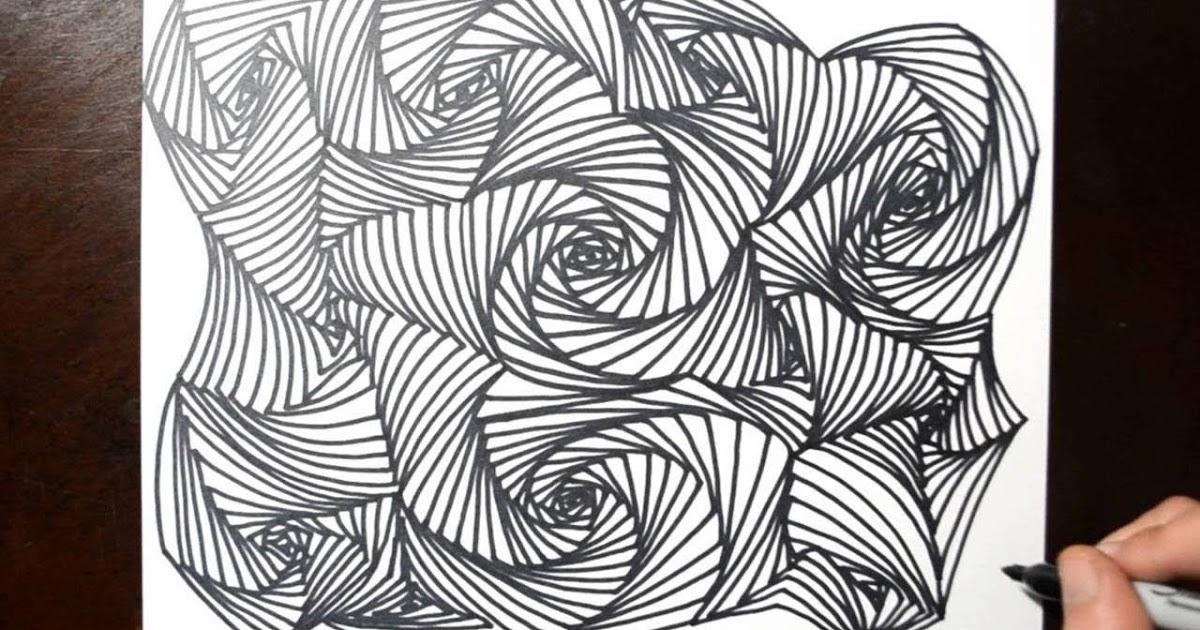 Kombinasi Antara Garis Lurus Dan Garis Lengkung Menghasilkan Karya Seni Seni Rupa Dan Sejarah