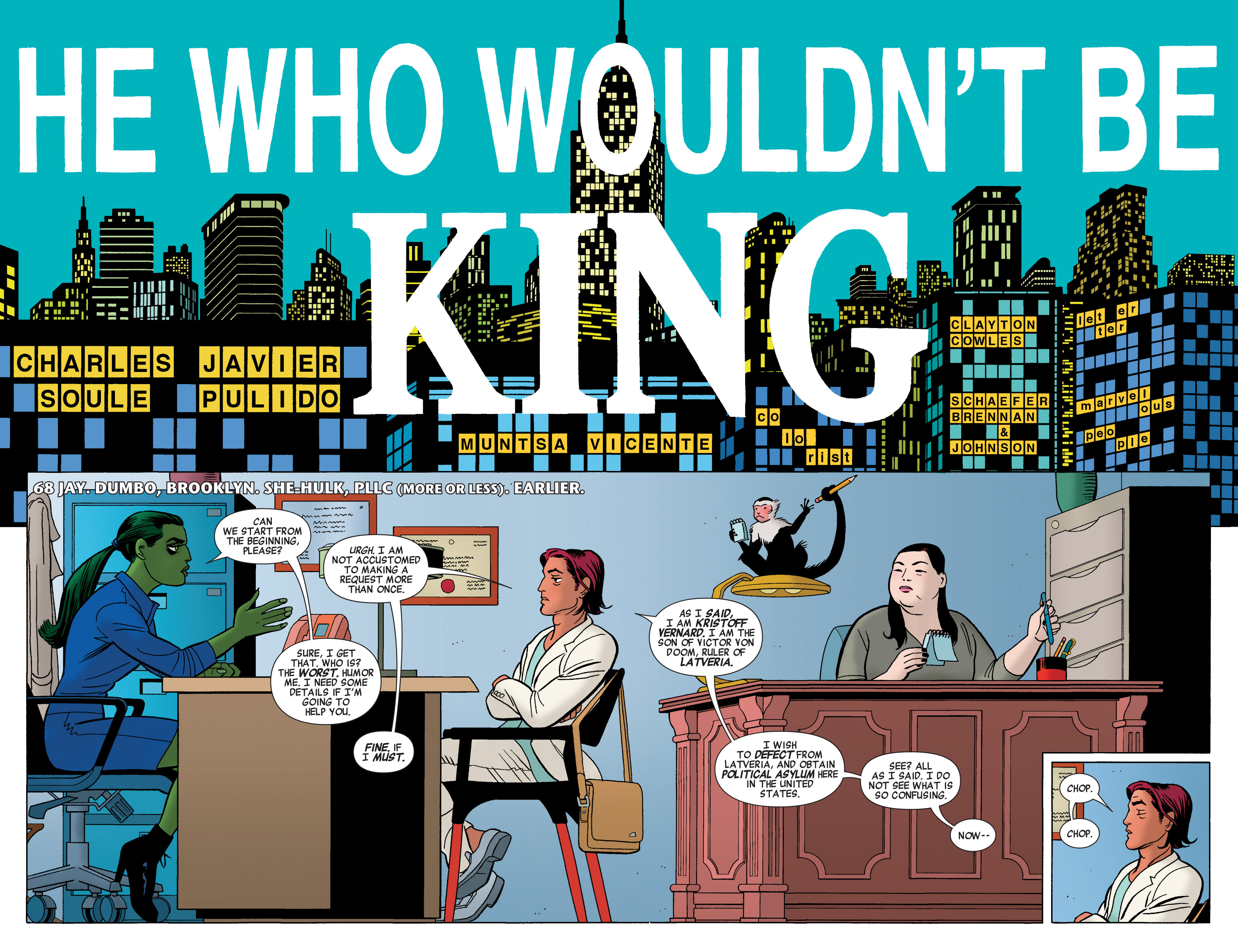 Read online She-Hulk (2014) comic -  Issue #3 - 4