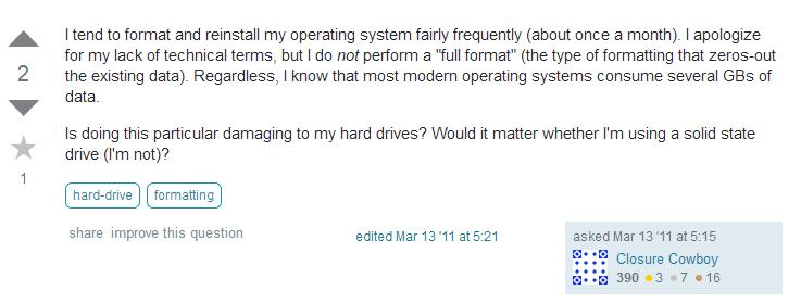 Dampak buruk sering install ulang laptop