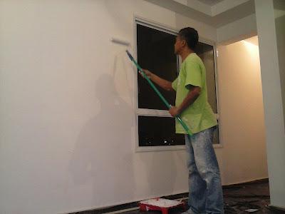 pintura apartamento pequeno e grande