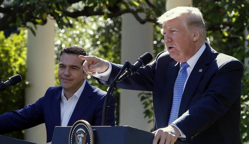 Τι δεν είπε και τι δεν άκουσε ο Ντόναλντ Τραμπ στο Rose Garden