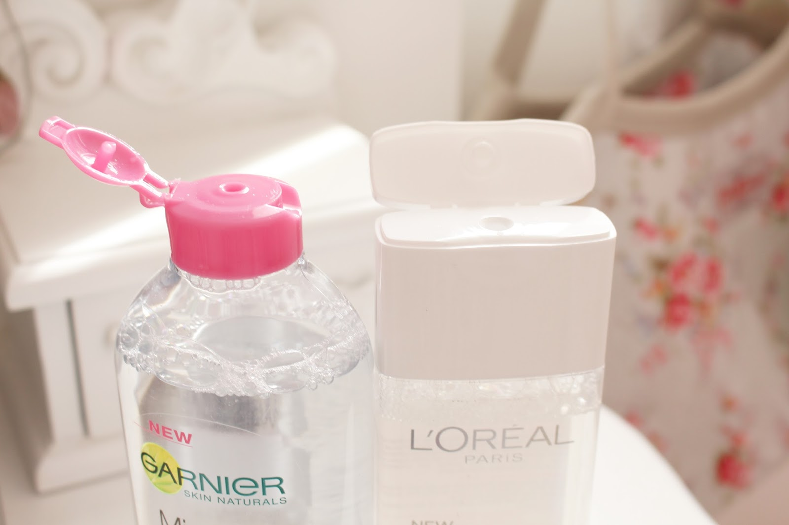 Micellar Cleansing Waters | L'Oreal VS Garnier Review