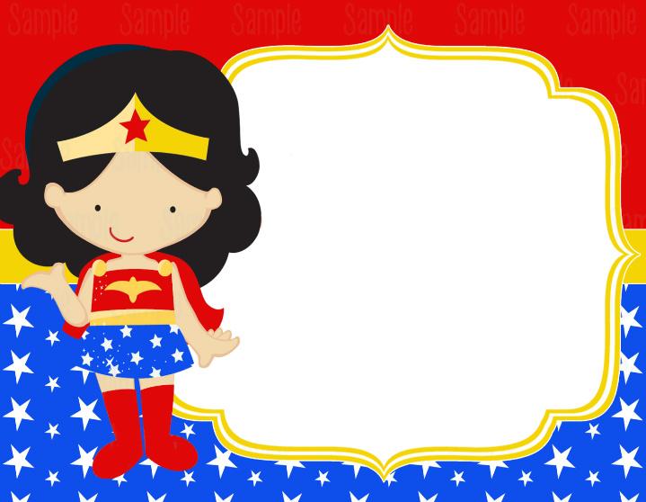 Mujer Maravilla Niña Animada: Edible Paper In Creatividades