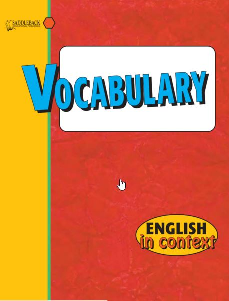 Series] Vocabulary in Context SaddleBack — Full Ebooks