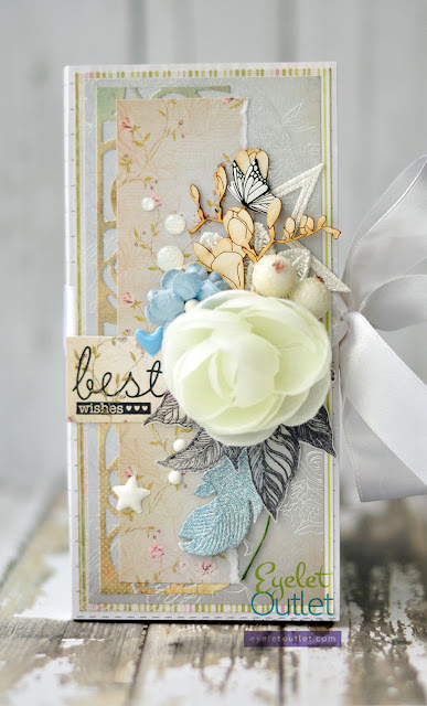 best wishes box | Eyelet Outlet DT @akonitt #chocolatebox #by_marina_gridasova #eyeleoutlet #kaisercraft #ikropka #prima #memorybox #enameldots #washitape