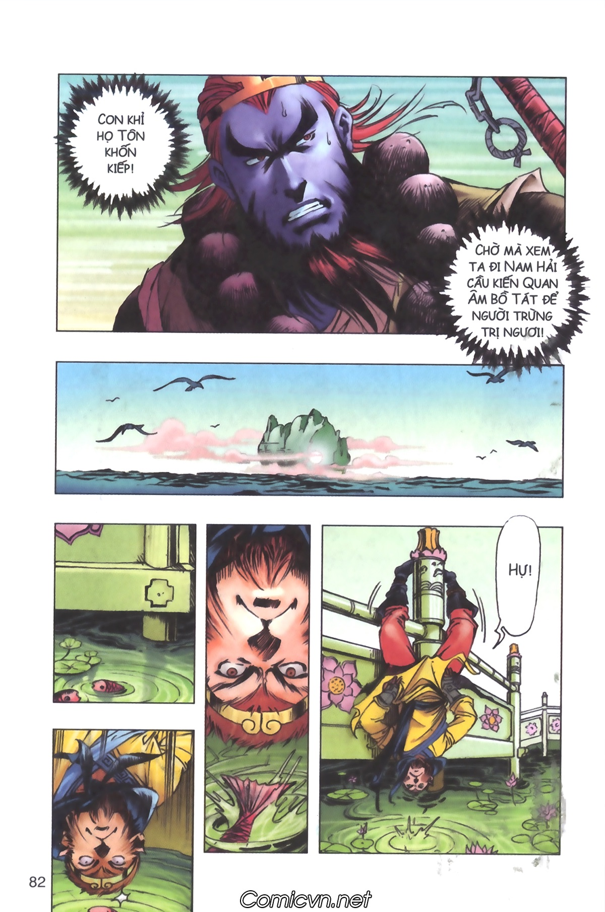 Tây Du Ký màu - Chapter 103 - Pic 8
