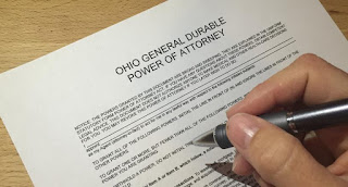 ohio power of attorney form bmv