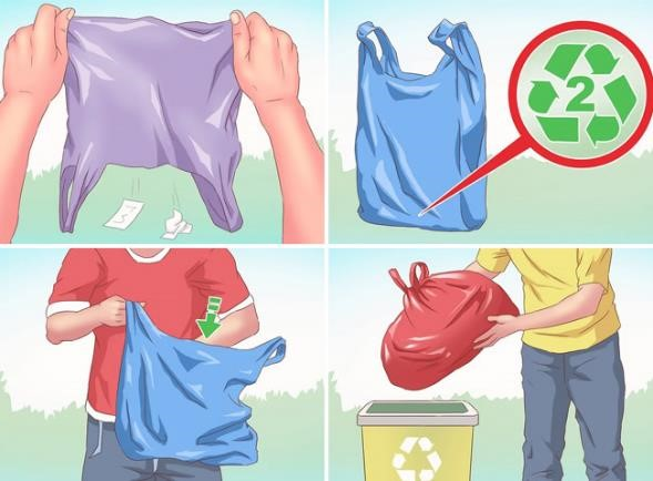 Como Reciclar Bolsa de Plastico