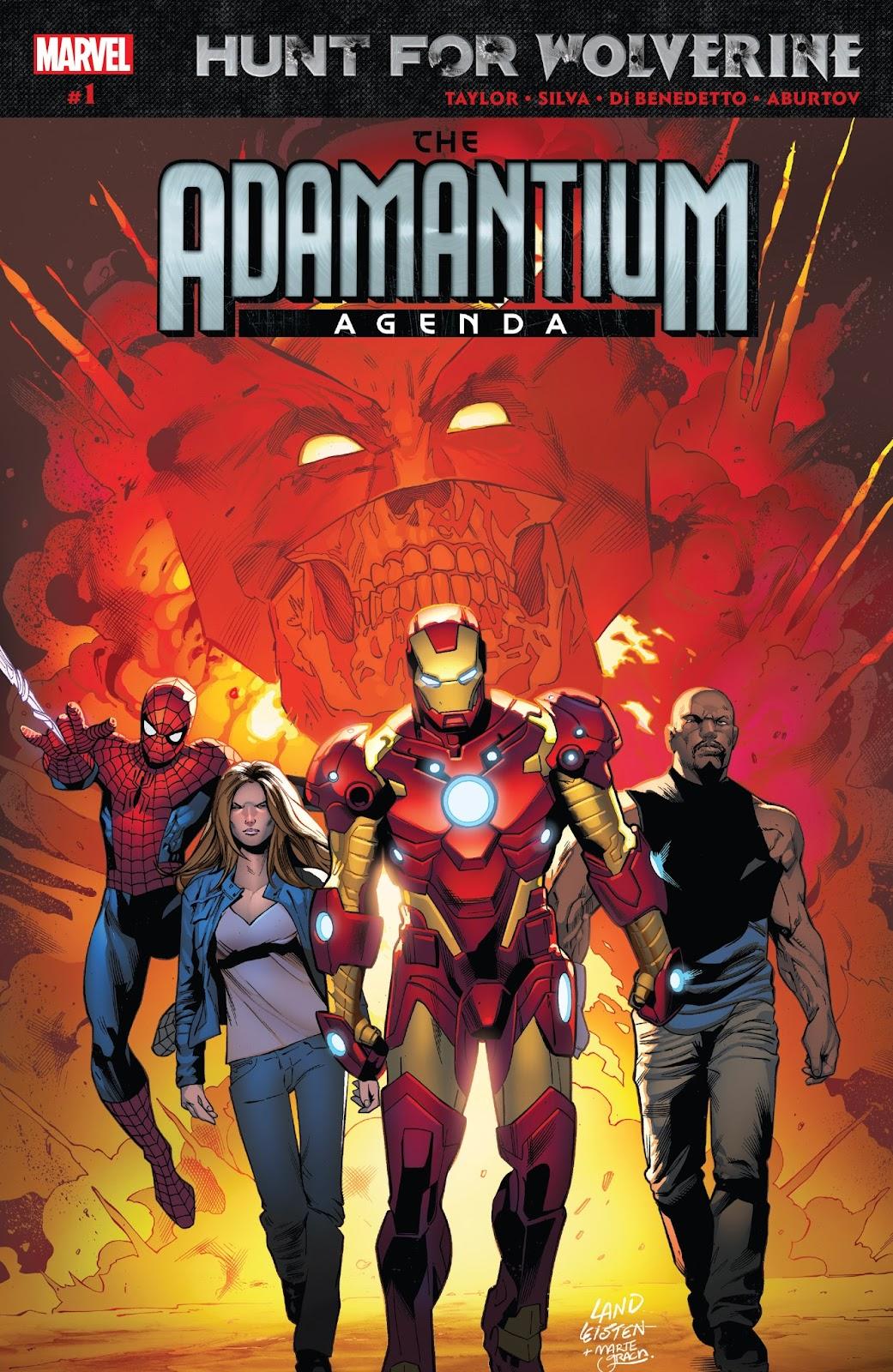 Hunt for Wolverine: Adamantium Agenda issue 1 - Page 1