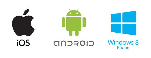 android iOS windows mobile