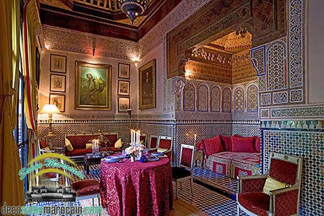 Salon marocain traditionnel 2017 / la vraie antiquité