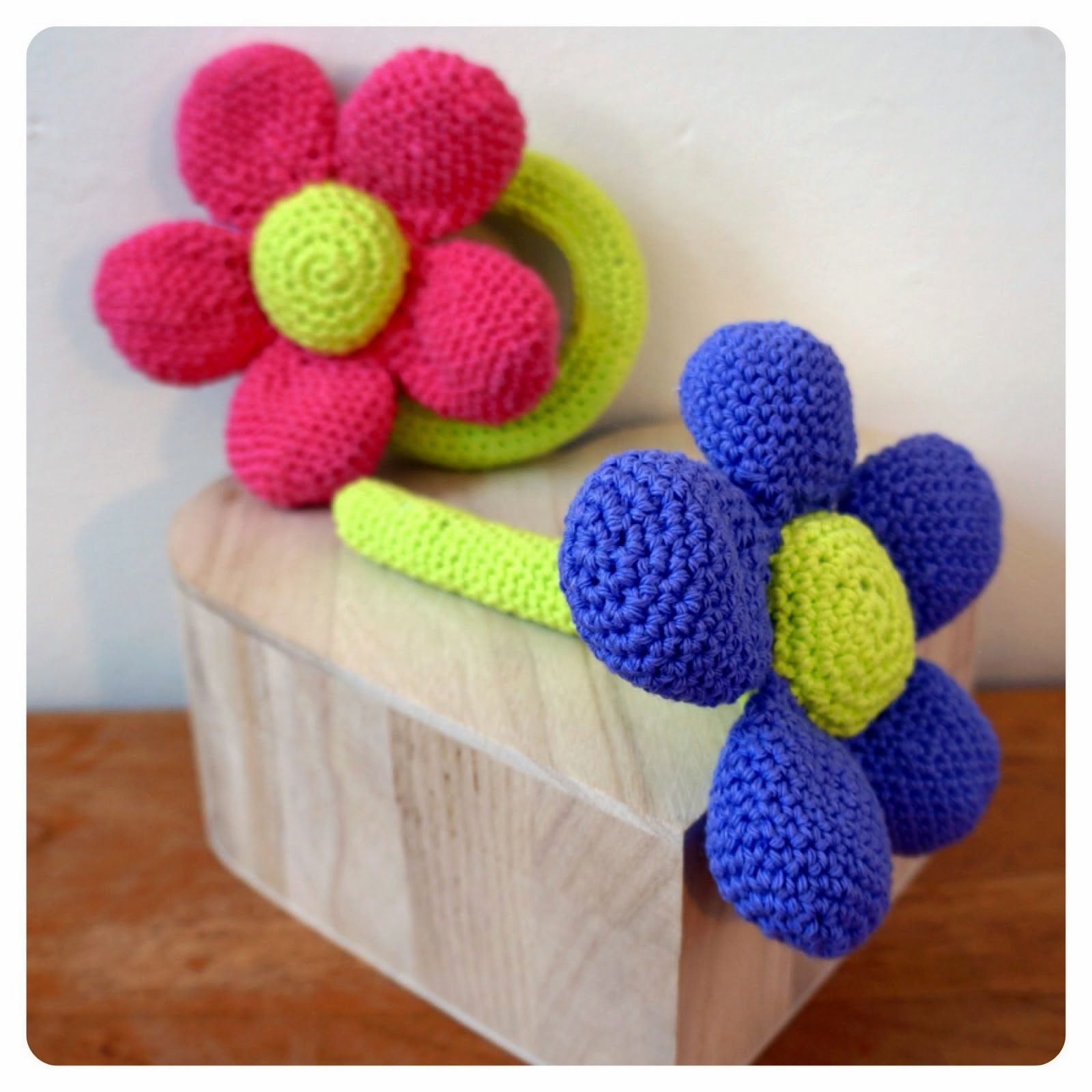 Flower Rattle Crochet Pattern