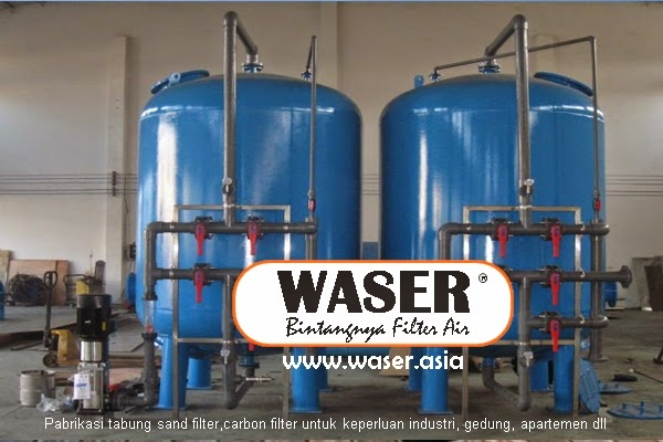 Jual Sand Dan Carbon Filter Air Industri