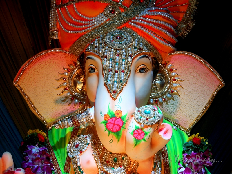 Mystical eyes, Ganesh Pandal Hopping, Mumbai