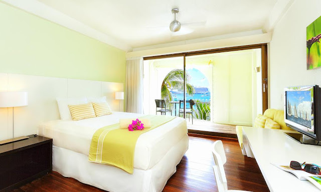 Hotel Saint Martin - Holland House Beach Hotel - CHambre avec vue sur la mer