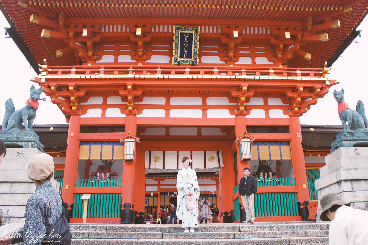main shrine, fushimi inari-taisha