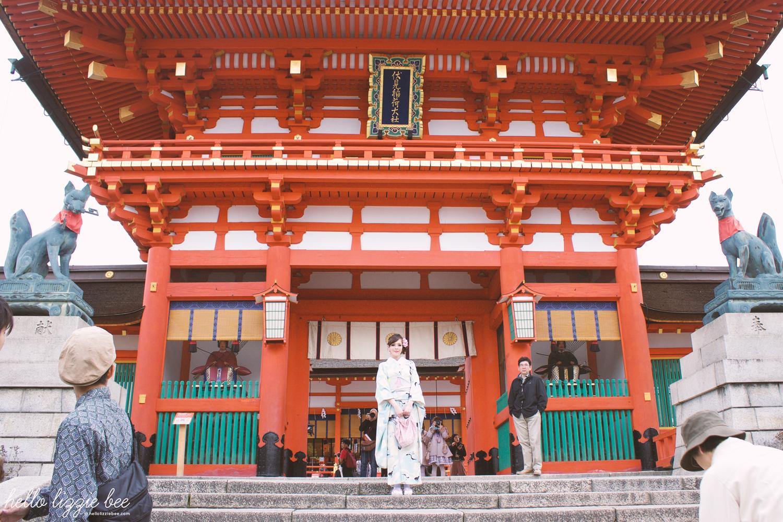 main shrine, fushimi inari-taisha