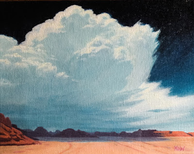 storm clouds over canyonlands utah landscape oil painting km withers art