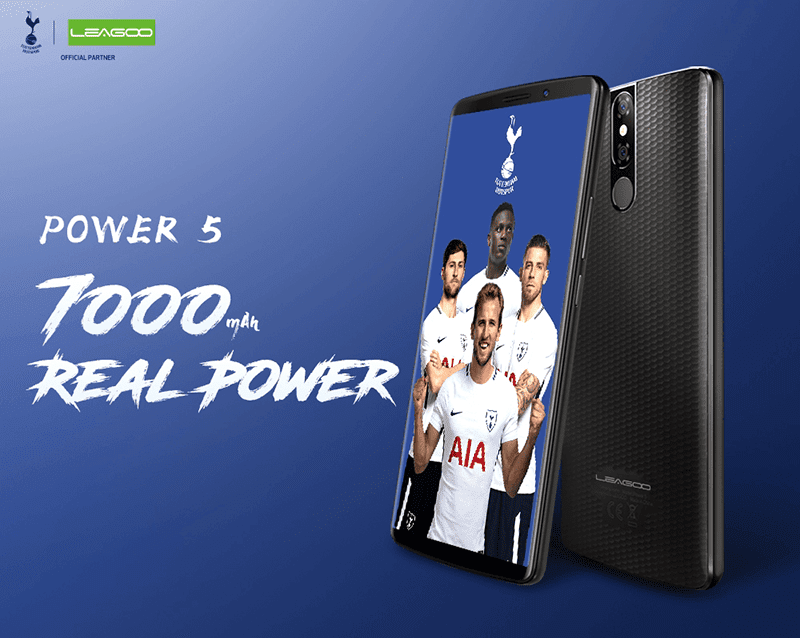 "Leagoo Power 5 has ""real"" 7,000mAh battery capacity"