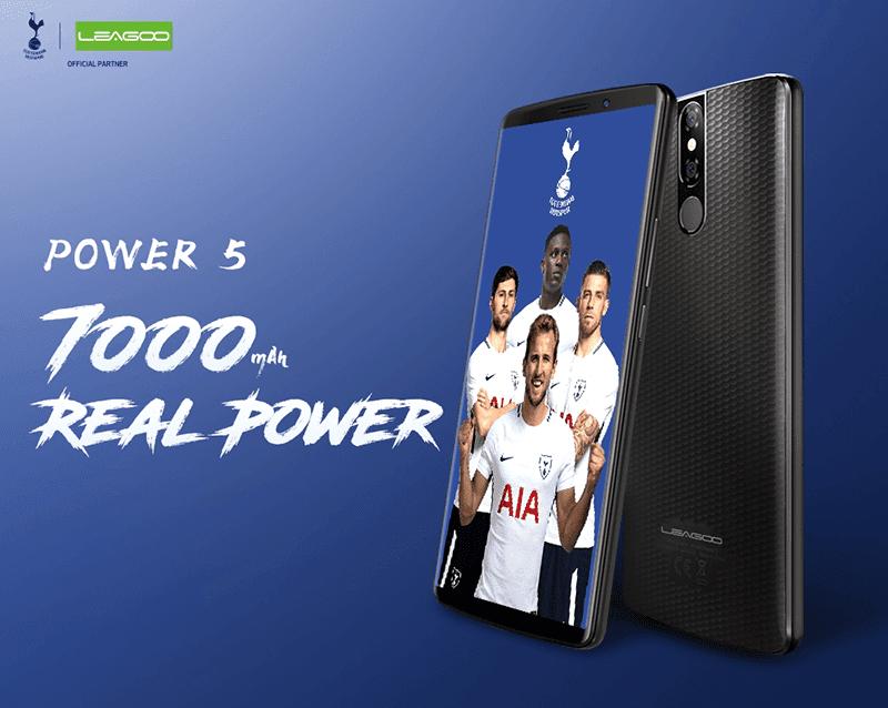 """Leagoo Power 5 has """"real"""" 7,000mAh battery capacity"""