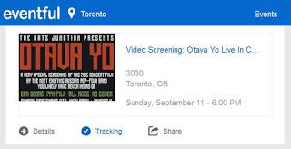 eventful: Video Screening: Otava Yo Live in Concert at 3030