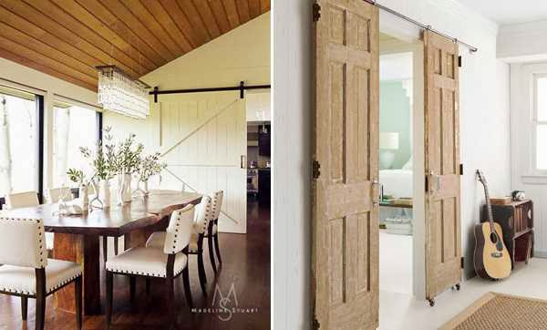 interior sliding doors for small spaces