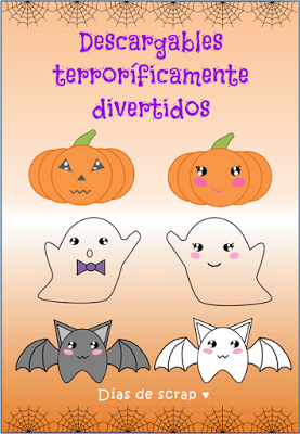 Descargable figuras Halloween