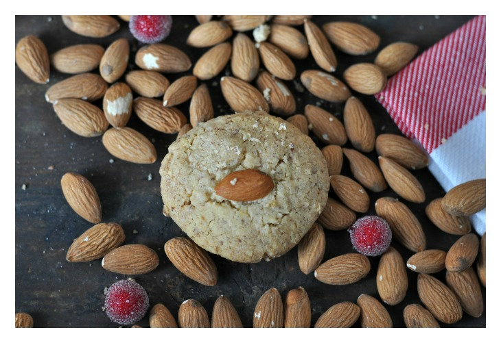 Bollos Eulalia - Spanish almond cookies for christmas, gluten free