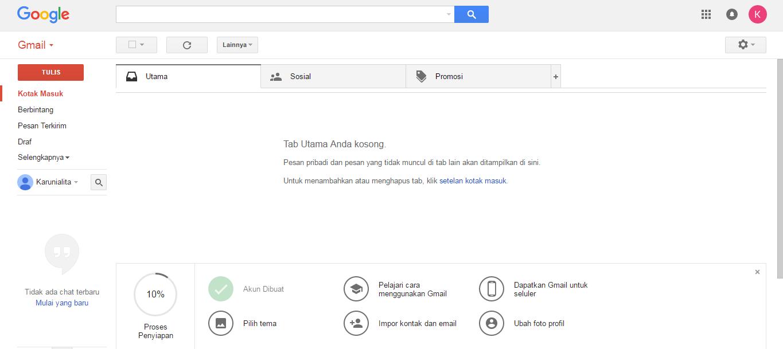 Cara Membuat Akun Google Dari Gmail.com