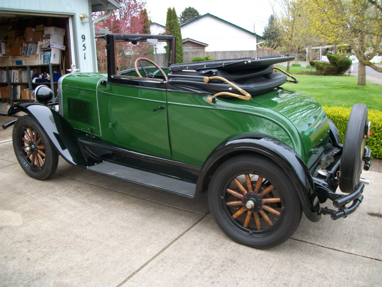 My 1928 Chevrolet 1928 National Ab Convertible Sport