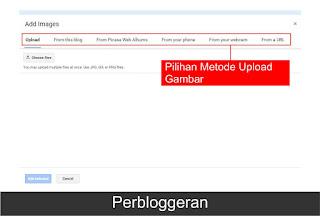 Cara menambahkan gambar kedalam artikel blog