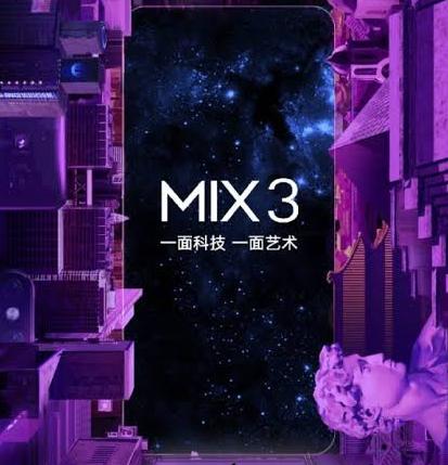Informasi Tanggal Rilis Harga dan Spesifikasi Xiaomi Mi Mix 3