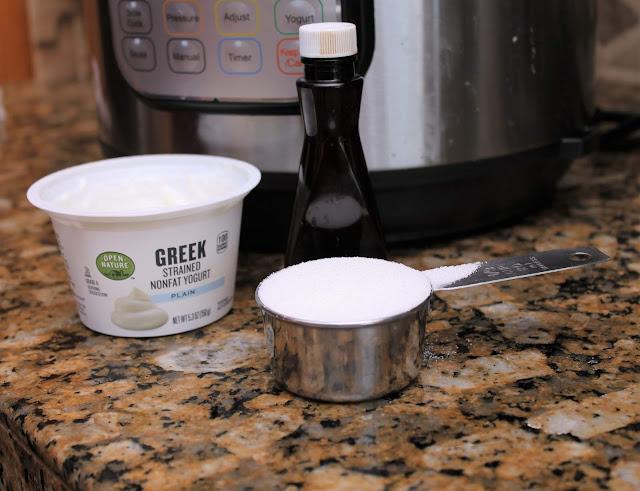 Homemade Pressure Cooker Yogurt
