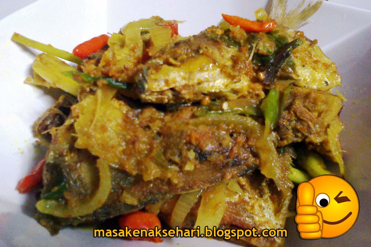 Resep Masakan Ikan Kembung Bumbu Kuning   Resep Masakan ...