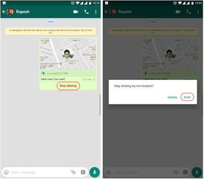 Cara Menggunakan Fitur Live Location ( Lokasi Sekarang ) Di WhatsApp