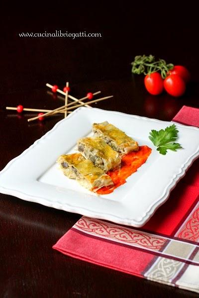 strudel vegetariano verdure ricetta