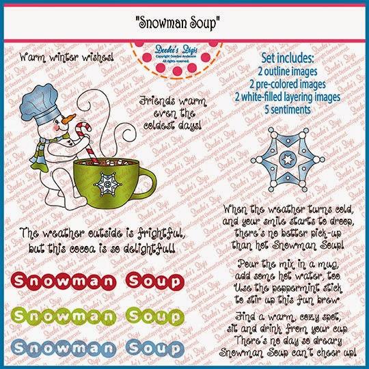 Snowman Soup Printable Poem Template