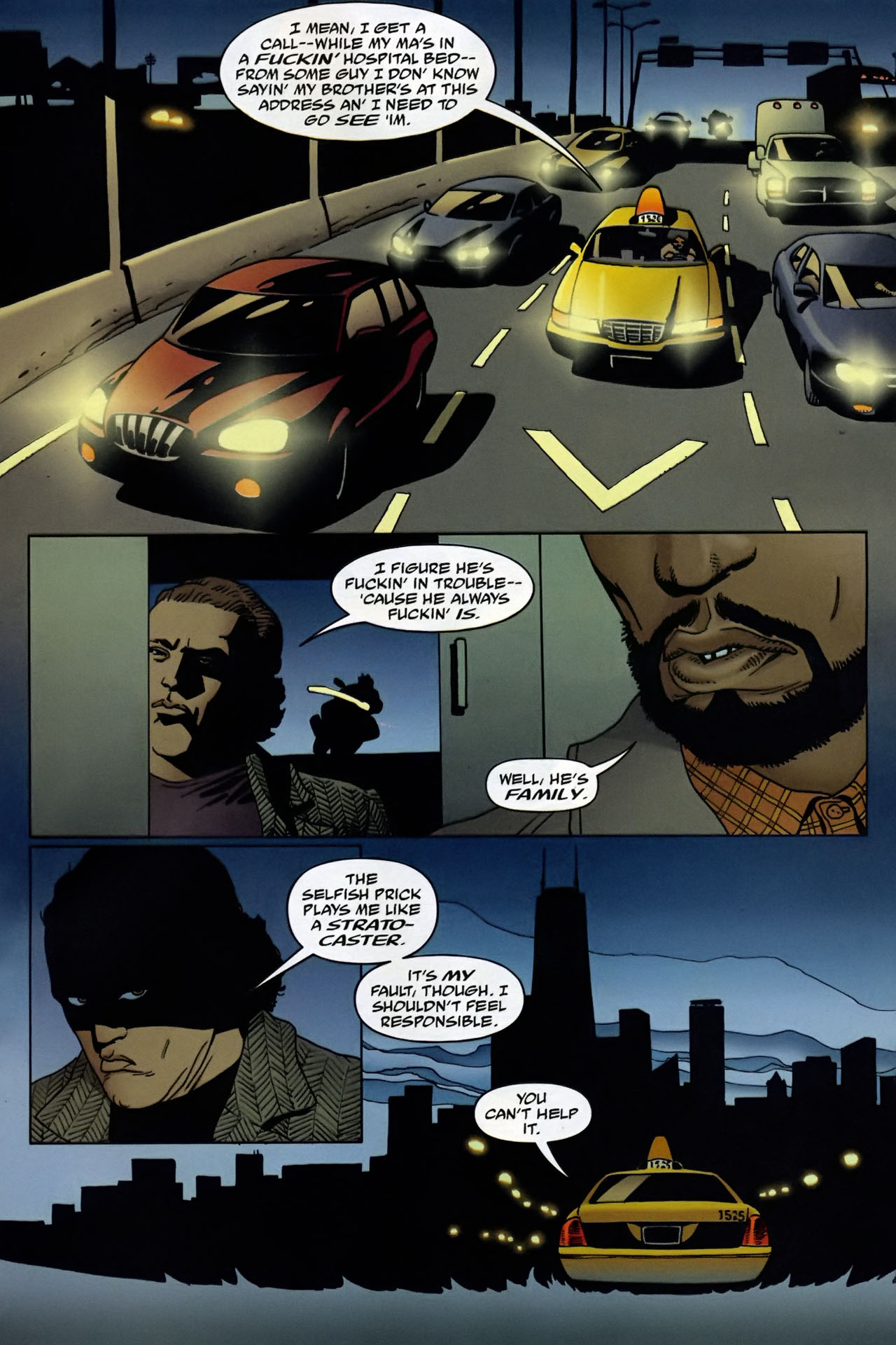 Read online 100 Bullets comic -  Issue #95 - 12