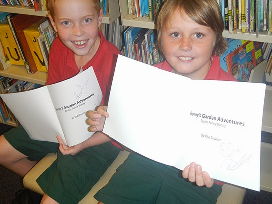 kids from wyoming public school reading books