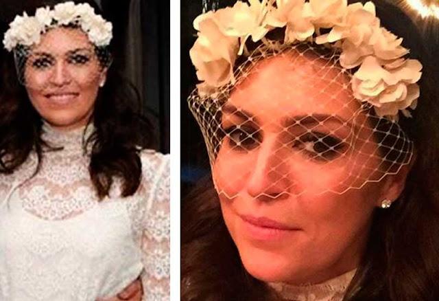 Natalie Klein de noiva