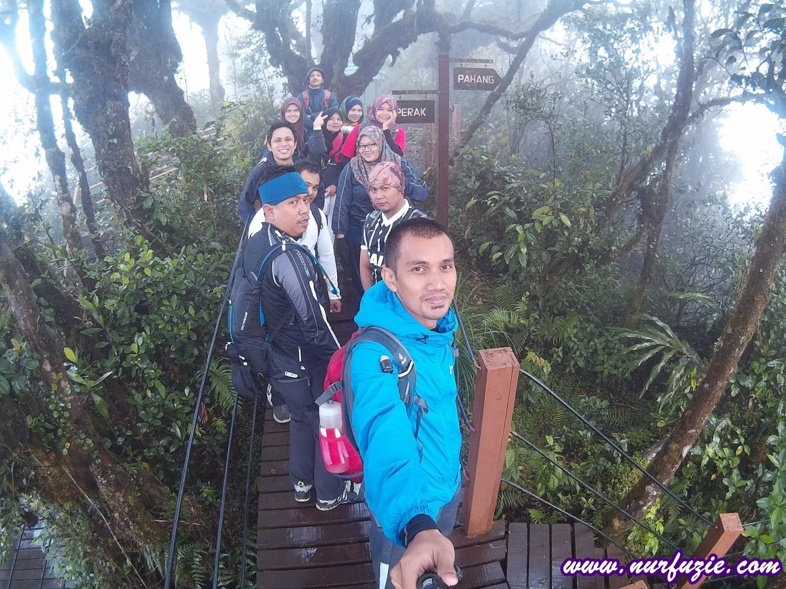 Gunung Irau 4 Pendakian Yang Mencabar Nurfuzie Com